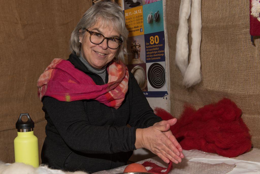 Martina Dettweiler und Karin Siebald Textil